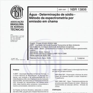 NBR13806 de 04/1997