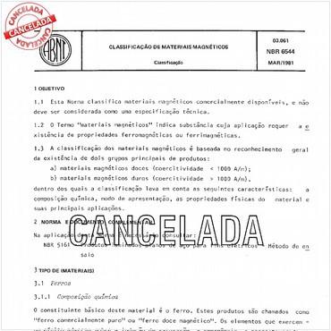 NBR6544 de 03/1981