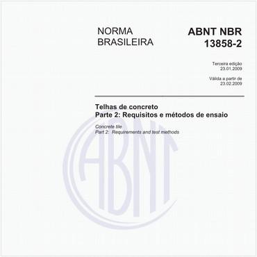 NBR13858-2 de 01/2009