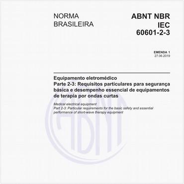 NBRIEC60601-2-3 de 06/2019