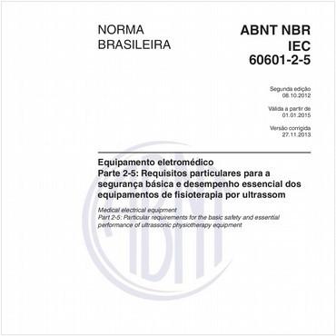 NBRIEC60601-2-5 de 10/2012