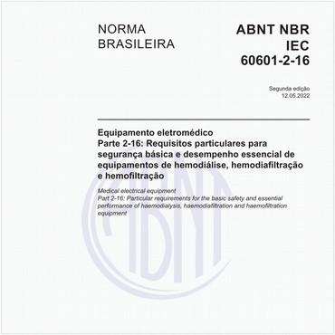 NBRIEC60601-2-16 de 01/2015