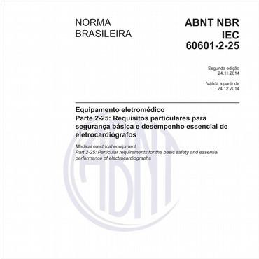 NBRIEC60601-2-25 de 11/2014