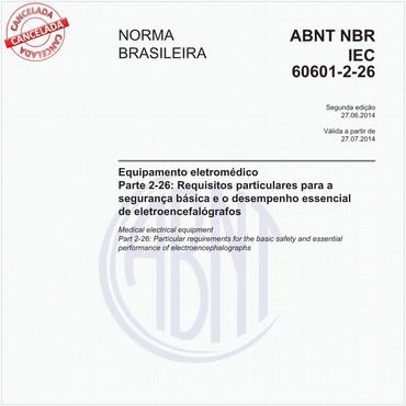 NBRIEC60601-2-26 de 06/2014