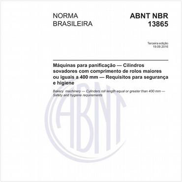 NBR13865 de 09/2016