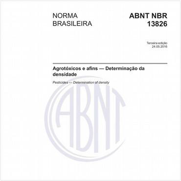 NBR13826 de 05/2016