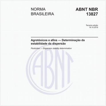 NBR13827 de 10/2019