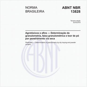 NBR13828 de 09/2019