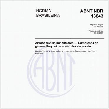 NBR13843 de 02/2009