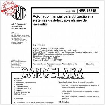NBR13848 de 05/1997