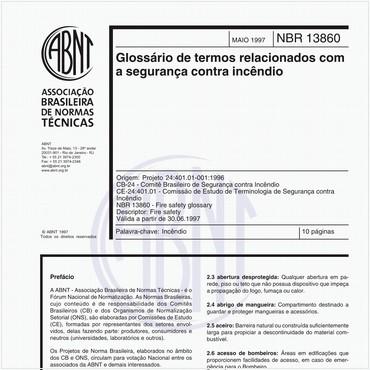 NBR13860 de 05/1997