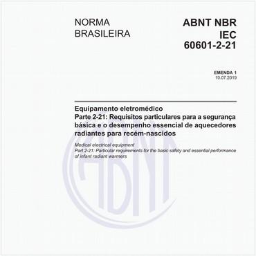 NBRIEC60601-2-21 de 07/2019