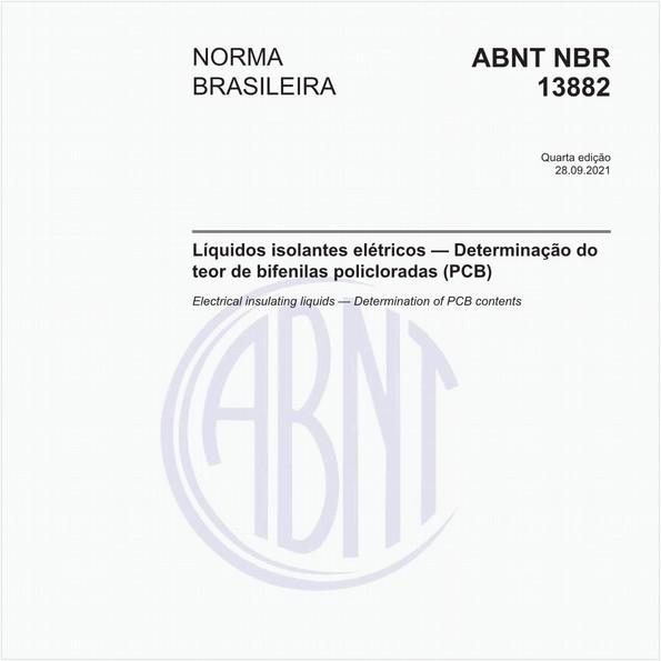Líquidos isolantes elétricos - Determinação do teor de bifenilas policloradas (PCB)