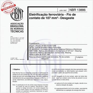 NBR13886 de 06/1997