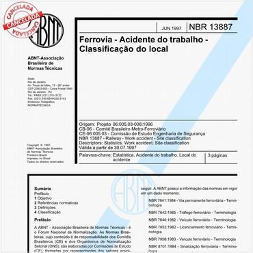 NBR13887 de 06/1997