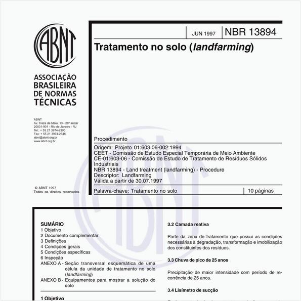Tratamento no solo (landfarming)