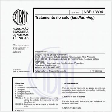 NBR13894 de 06/1997