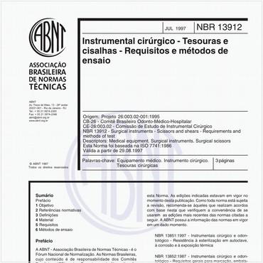 NBR13912 de 07/1997