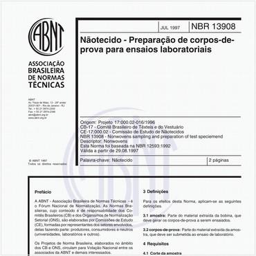NBR13908 de 07/1997