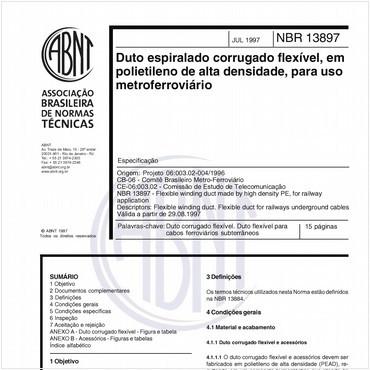 NBR13897 de 07/1997