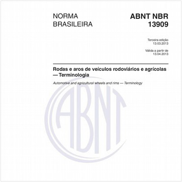 NBR13909 de 03/2013