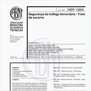 NBR13899 de 07/1997