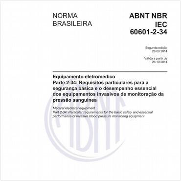 NBRIEC60601-2-34 de 09/2014