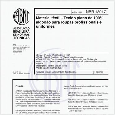 NBR13917 de 08/1997