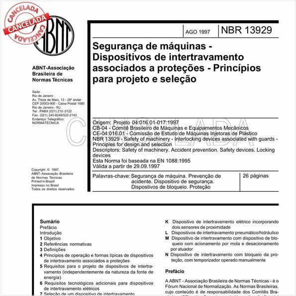 NBR13929 de 07/2002