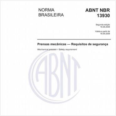 NBR13930 de 08/2008
