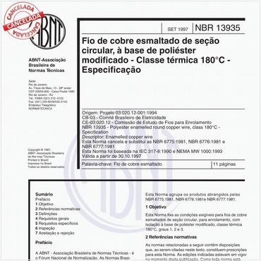NBR13935 de 09/1997
