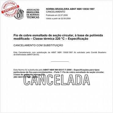 NBR13938 de 09/1997
