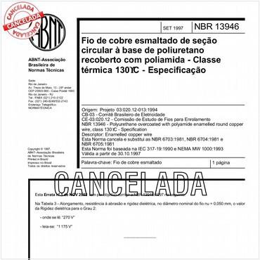 NBR13946 de 09/1997