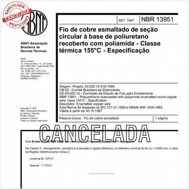 NBR13951 de 09/1997