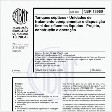 NBR13969 de 09/1997