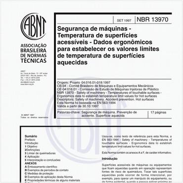 NBR13970 de 09/1997
