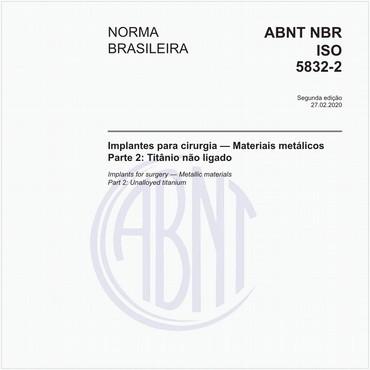 NBRISO5832-2 de 02/2020
