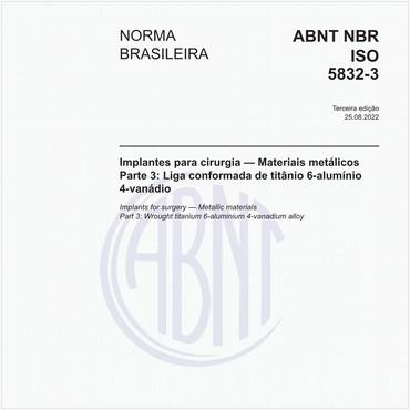 NBRISO5832-3 de 08/2017