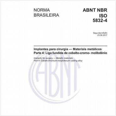 NBRISO5832-4 de 08/2017