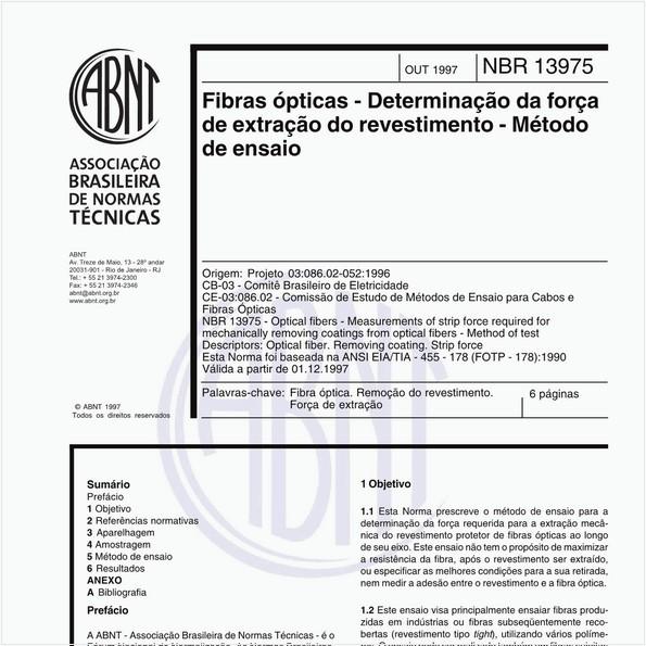 NBR13975 de 10/1997