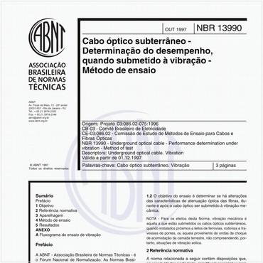 NBR13990 de 10/1997
