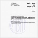 NBRIEC60601-2-10 de 04/2014