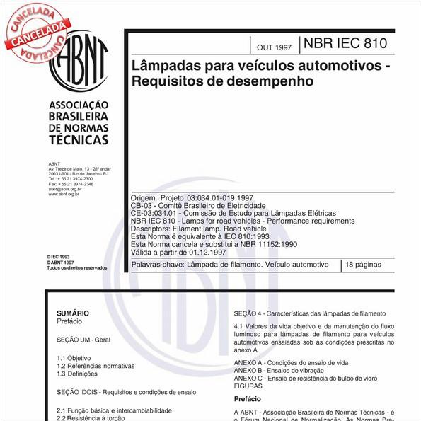 NBRIEC60810 de 05/2012