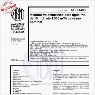 NBR14005 de 11/1997