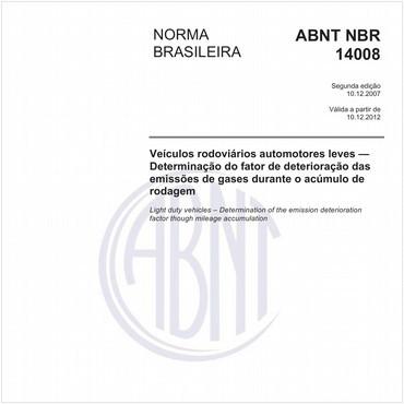 NBR14008 de 12/2007