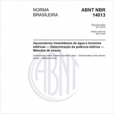 NBR14013 de 12/2015