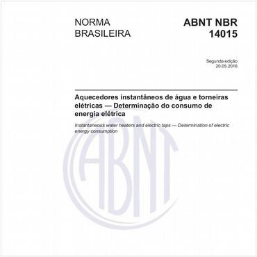 NBR14015 de 05/2016