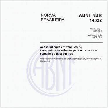 NBR14022 de 01/2011