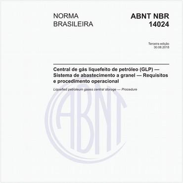 NBR14024 de 08/2018