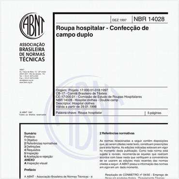 NBR14028 de 12/1997